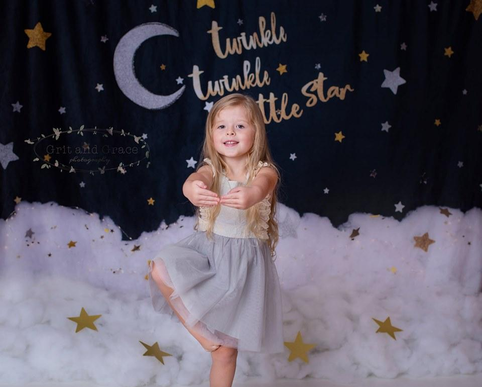 Load image into Gallery viewer, Katebackdrop£ºKate Twinkle Stars Backdrop for Photography Designed By Erin Larkins