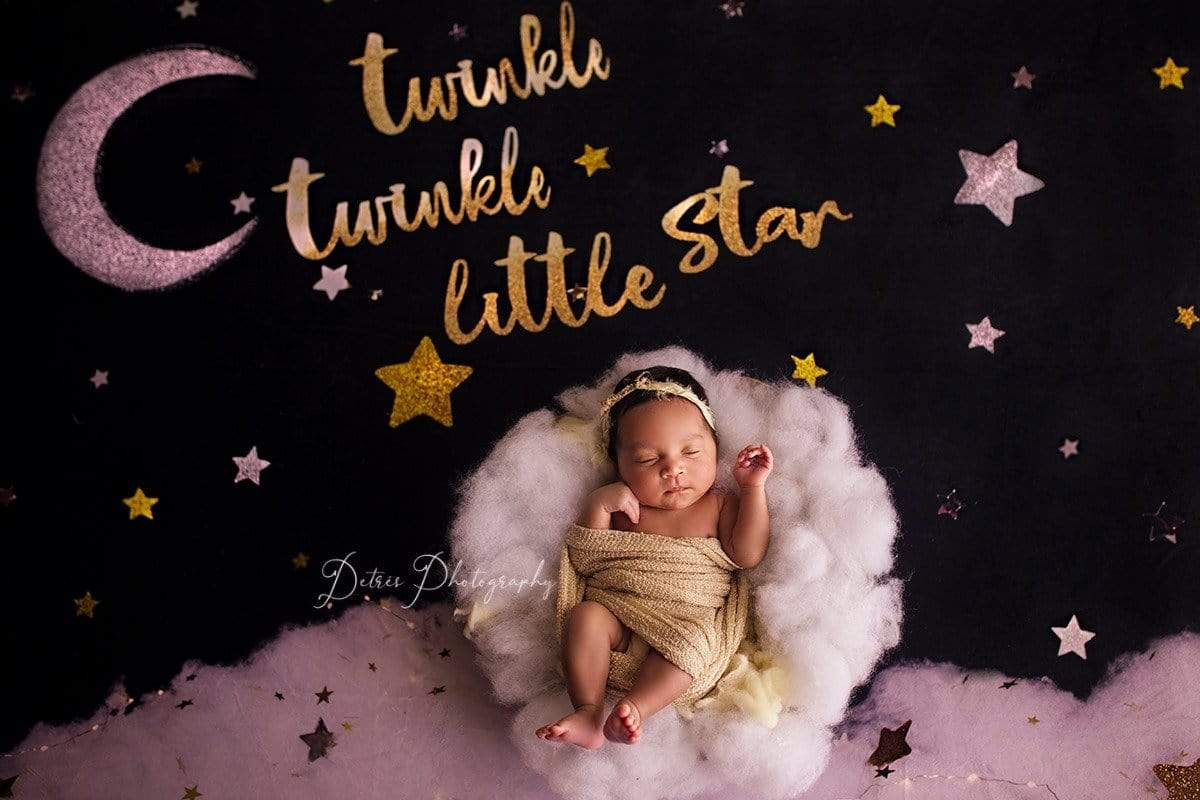 Load image into Gallery viewer, Katebackdrop:Kate Twinkle Stars Backdrop for Photography Designed By Erin Larkins