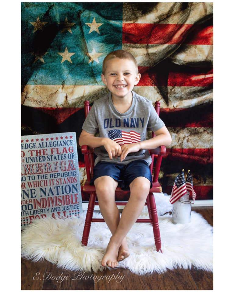 Katebackdrop£ºKate American Flag Independence Day Backdrop for Photography