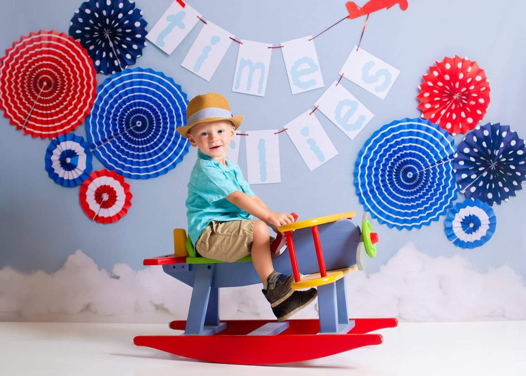 Katebackdrop:Kate Time Flies Children july of 4th Backdrop for Photography Designed by Lisa B