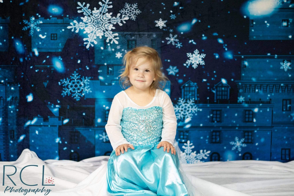 Katebackdrop£ºKate Winter Castle Backdrop for Photography Designed by JFCC