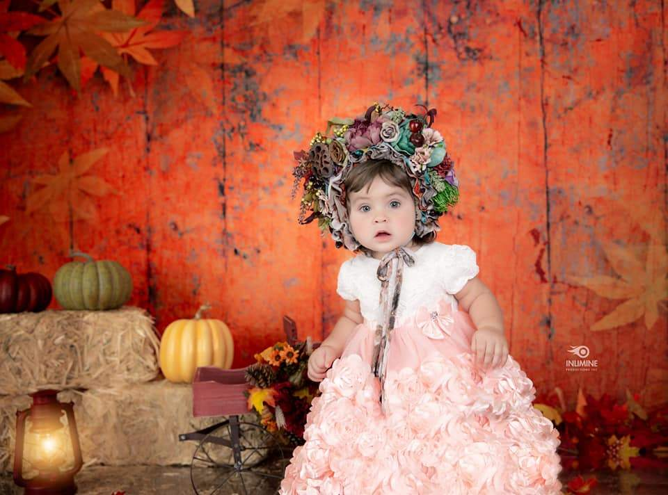 Load image into Gallery viewer, Katebackdrop£ºKate Autumn Maple Leaf Wooden Backdrops for Photography