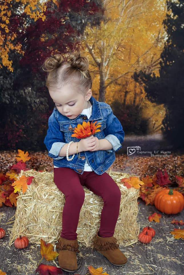Load image into Gallery viewer, Katebackdrop£ºKate Autumn's Walk Backdrop for Fall Designed By Rose Abbas