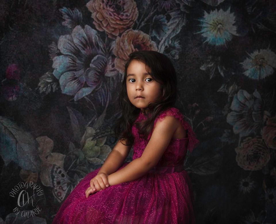 Katebackdrop:Kate Retro Floral Smoke Mist Backdrop for Photography Designed By Avion Photography
