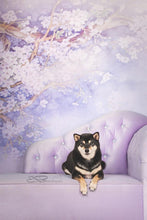Load image into Gallery viewer, Kate Purple Backdrop Flower Photography Background US