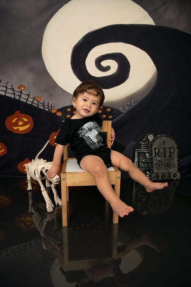 Katebackdrop£ºKate Halloween Pumpkin Garden Backdrop for Photography Designed By Leann West