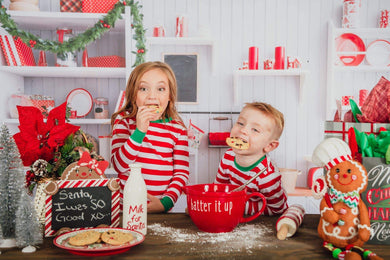 Katebackdrop:Kate Christmas Kitchen Backdrop White Wall for Photography