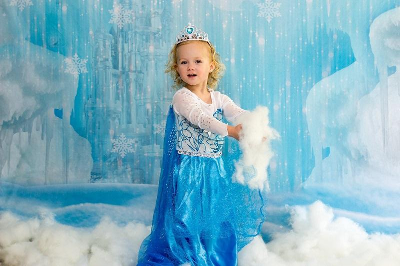 Load image into Gallery viewer, Katebackdrop£ºKate Winter Ice Frozen Snow Castle/Christmas Backdrop Designed By Jerry_Sina