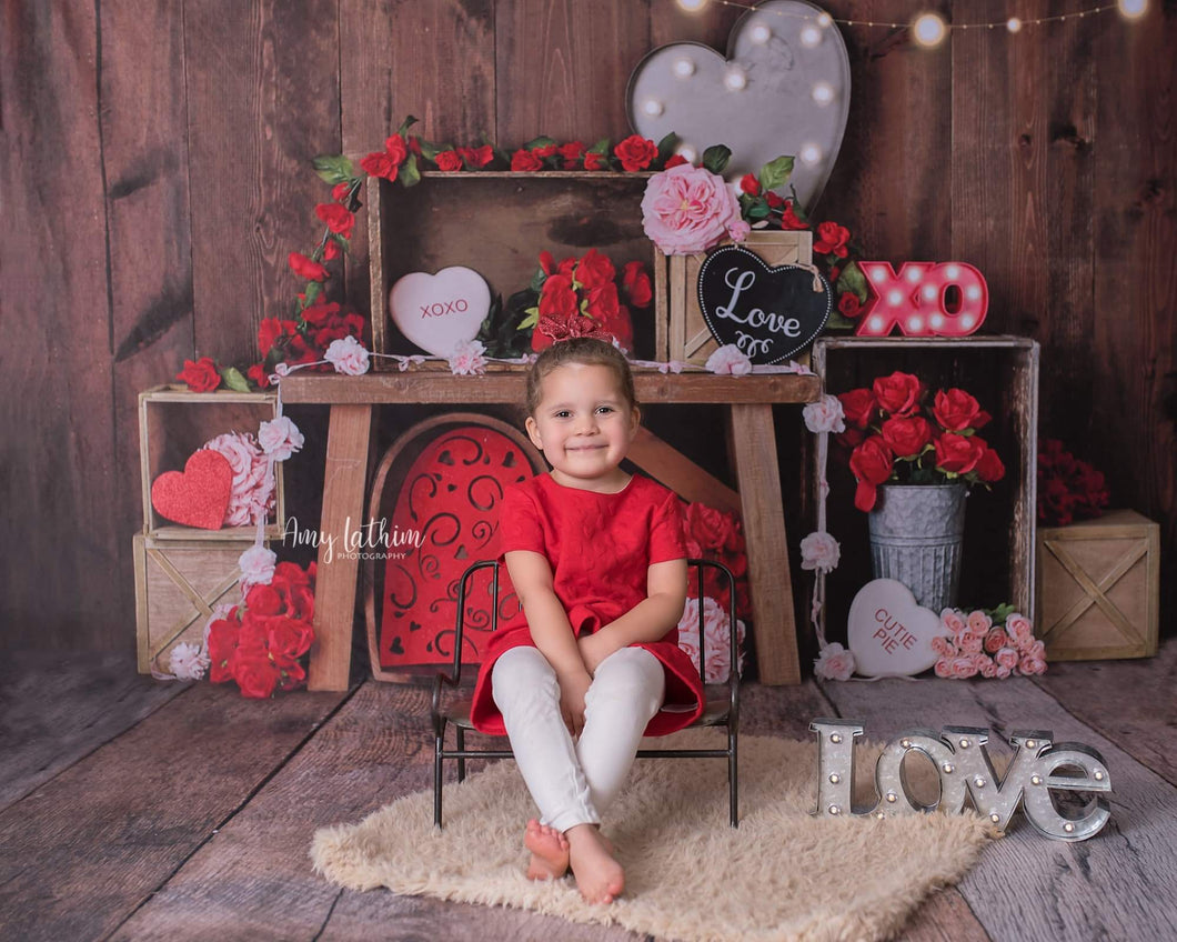 Kate Valentine's Crates Backdrop Designed By Mandy Ringe Photography