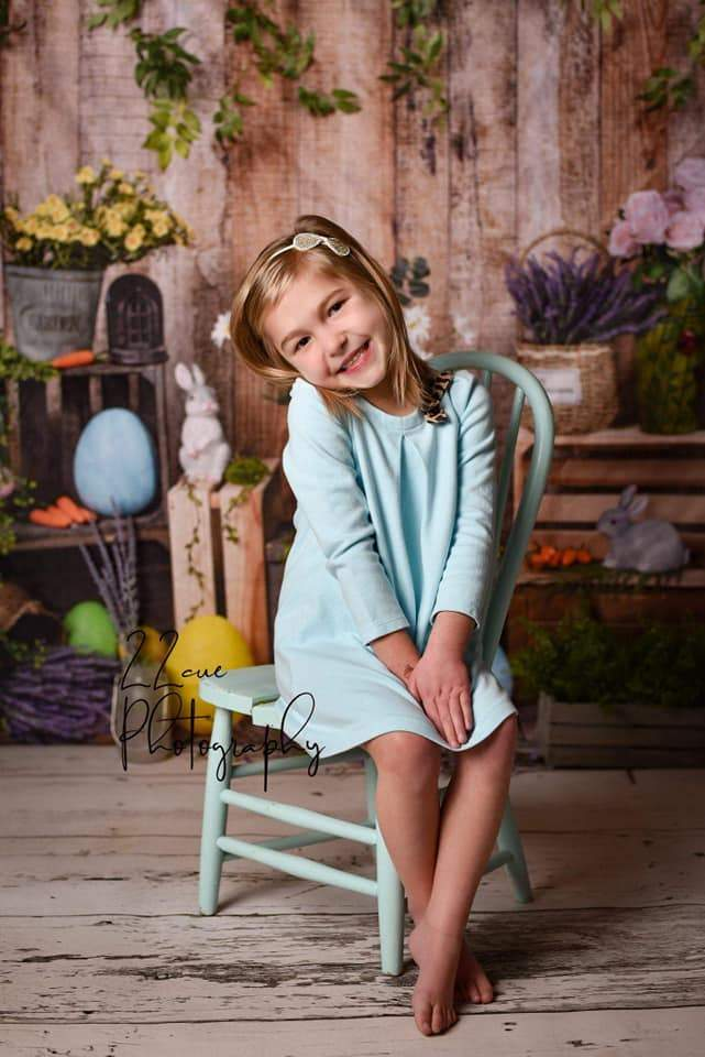 Load image into Gallery viewer, Kate Spring Easter Backdrop Designed by Jia Chan Photography