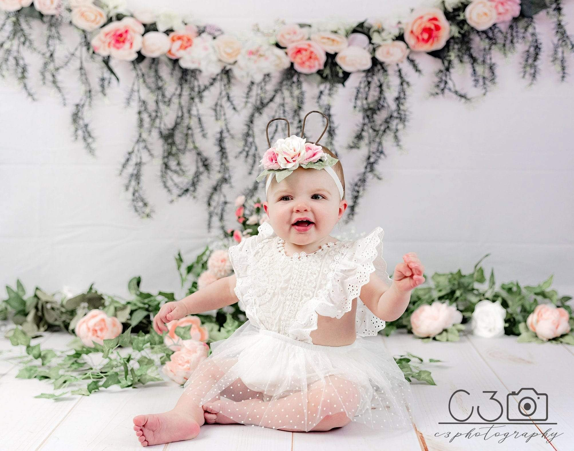 Load image into Gallery viewer, Katebackdrop£ºKate Rose Swag Backdrop for Mother's Day Photography