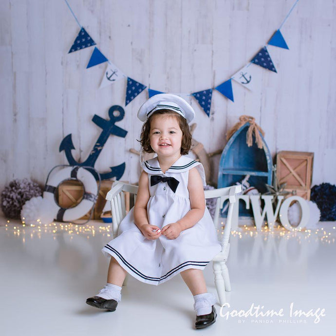 Kate Sailor Boy\Children Nautical Backdrop Designed By Mandy Ringe Photography