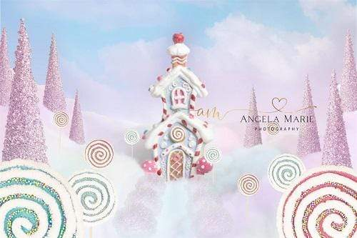 Kate Sweet Candy Land for Children Backdrop Designed By Angela Marie Photography