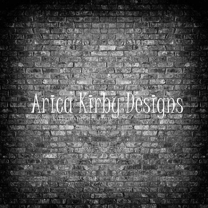 Load image into Gallery viewer, Katebackdrop£ºKate Retro Dark Gradient Brick Backdrop designed by Arica Kirby