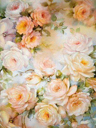 Katebackdrop:Kate Yellow Florals Background Photography Monther's Day Backdrop