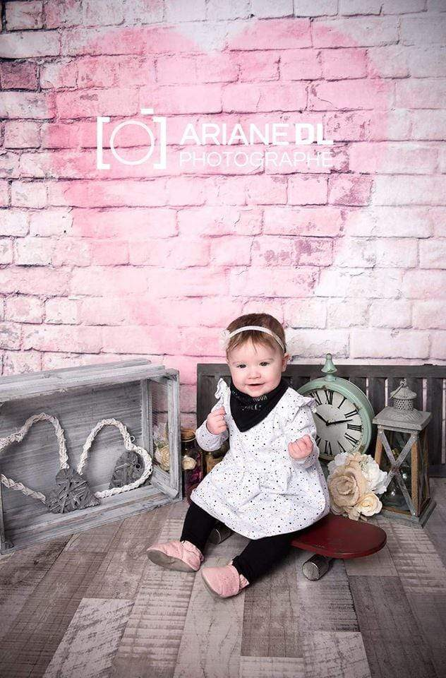 Katebackdrop:Kate Red Love heart Valentines Backdrop photos