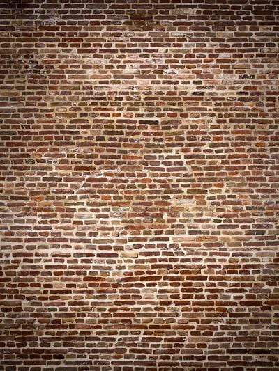 Kate Retro Style Brown Brick Wall Backdrops - Katebackdrop