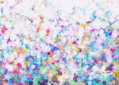 Katebackdrop:Kate Bright Splatter Paint Backdrop Designed by Modest Brushes