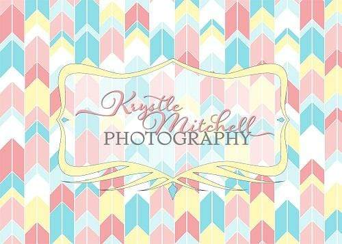 Load image into Gallery viewer, Katebackdrop£ºKate Seamless Chevron Diamond Children Backdrop Designed By Krystle Mitchell Photography