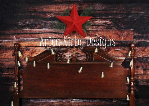 Kate Christmas Wood Wall Headboard Backdrop designed by Arica Kirby