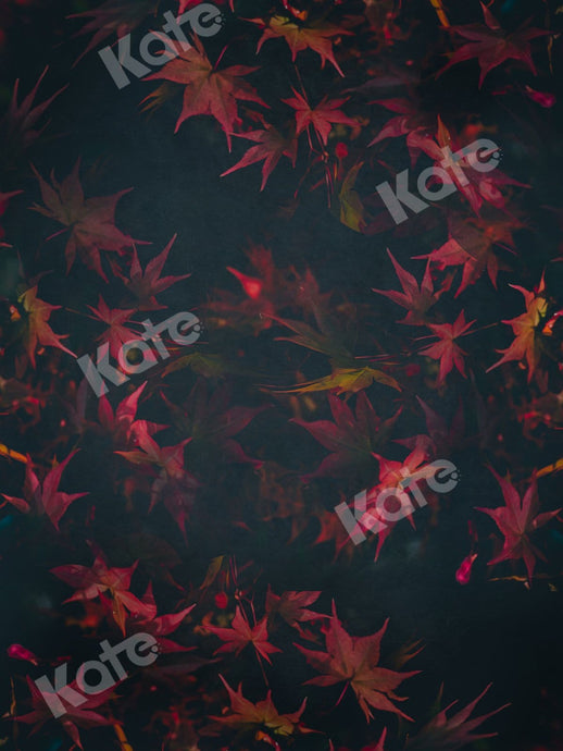 Kate Fine Art Red Leaves Backdrop for Photography