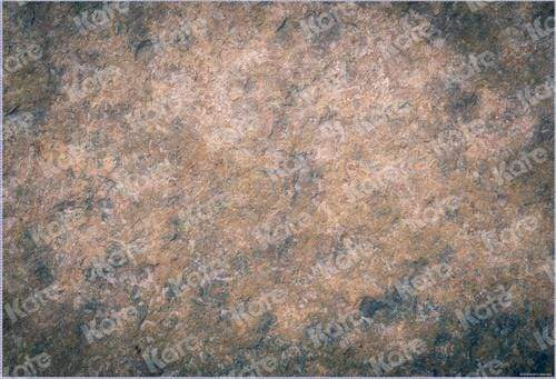 Katebackdrop:Kate Brown Texture Stone Rubber Floor Mat