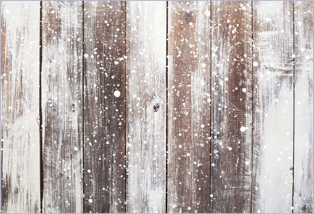 Katebackdrop¡êoKate Gray Snow wood rubber floor mat
