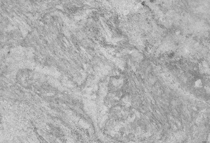 Kate Dark Gray Shadow Marble Stone Texture Computer Printed Rubber Floor Mat