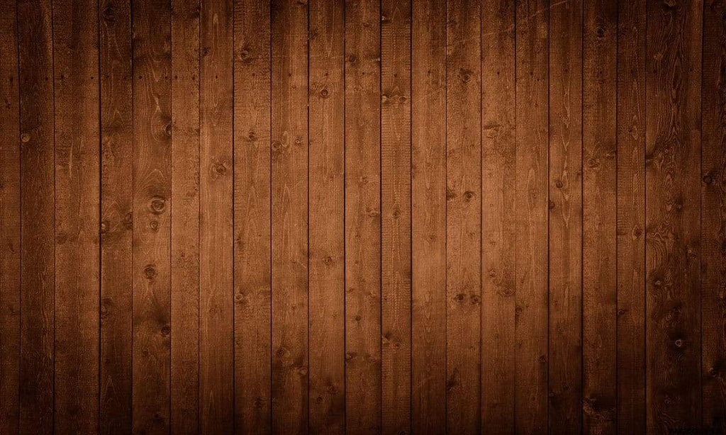 Katebackdrop¡êoKate Brown/Red Tones Wood Rubber Floor Mat