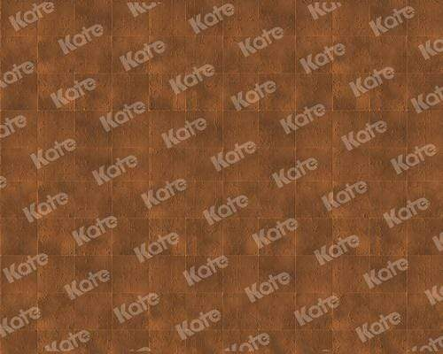 Katebackdrop¡êoKate Retro Dark Brown Rubber Floor Mat