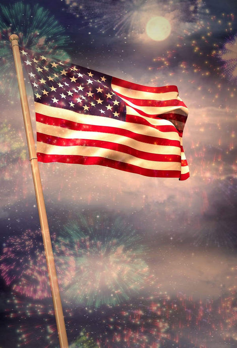 Katebackdrop:Kate Independence Day American flag for Photography