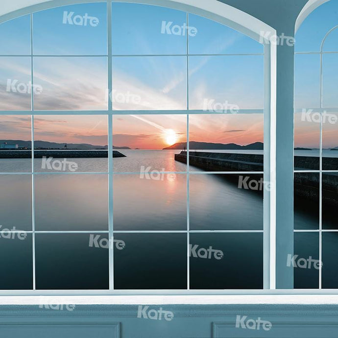 Kate Window Sunset Backdrop for Photography