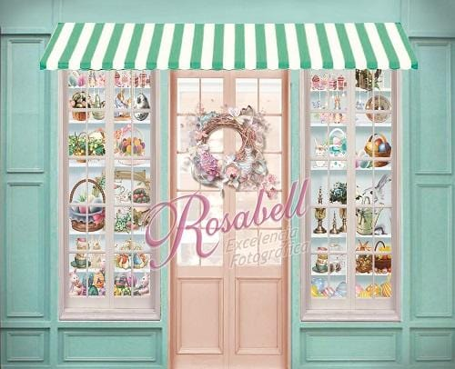 Kate Easter Shop Backdrop Designed by Rosabell Photography