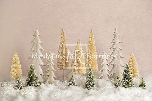 Kate Elegant Christmas Trees Backdrop for Photography Designed By Mandy Ringe Photography