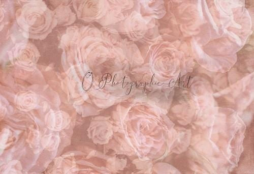 Kate Floral Roses Backdrop for Photography Designed by Jenna Onyia