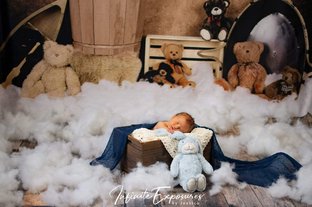 Katebackdrop:Kate Teddies in Dreamland Backdrop for Photography Designed by Amanda Moffatt