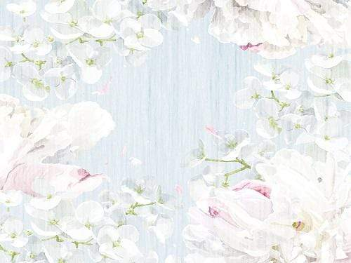 Katebackdrop£ºKate Watercolor White Floral Fresh Backdrop Designed By Jerry_Sina