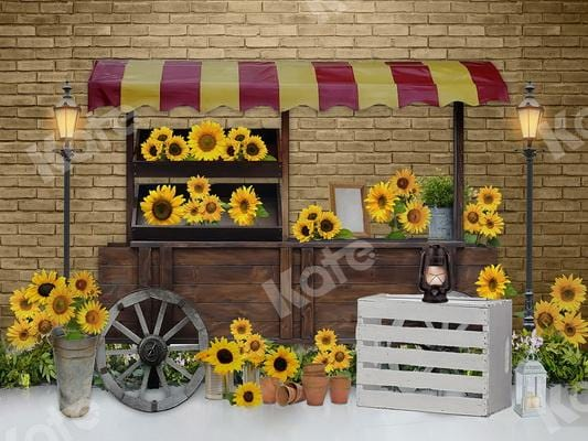 Kate Summer Sunflowers Backdrop Designed By JFCC