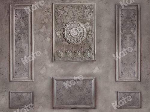 Kate Abstract Marble Retro Textured Wall Backdrop Designed By JFCC