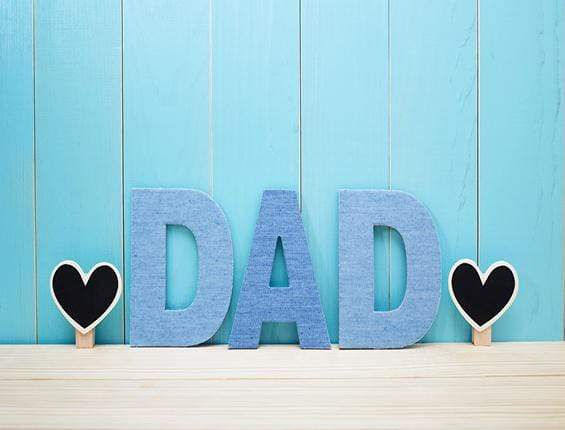 Katebackdrop:Kate Father'S Day Dad Letter Backdrop