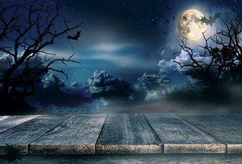 Kate Night Sky   Black clouds  Moon  Crow for Pictures