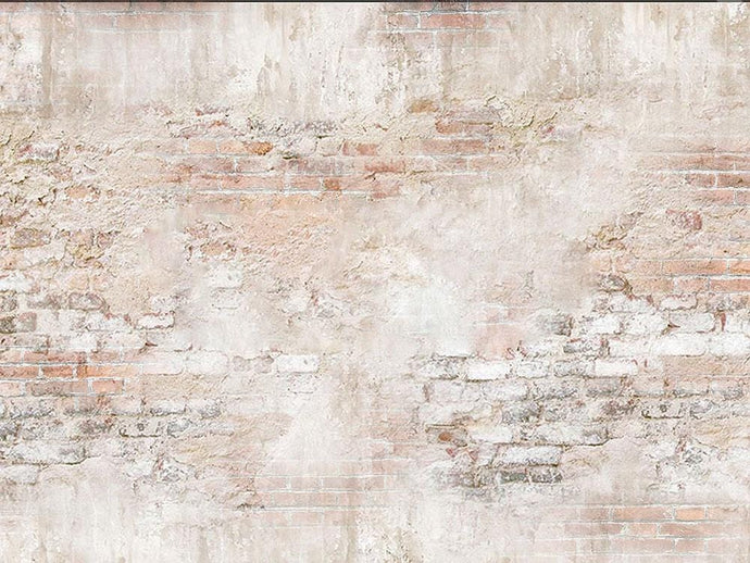 Kate Brick Wall Backdrop Cream Designed by Kate Image