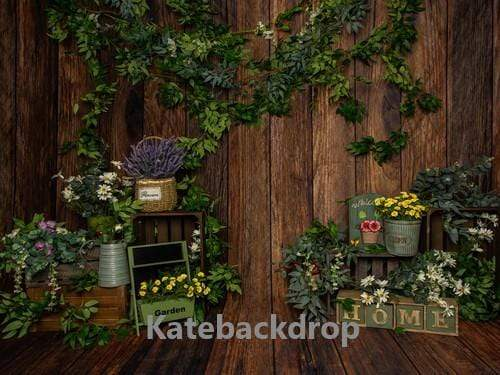 Kate Spring Flowers Backdrop Designed by Jia Chan Photography