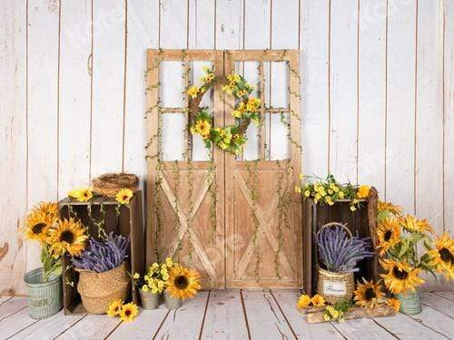 Kate Sunflower Spring Backdrop Designed by Jia Chan Photography