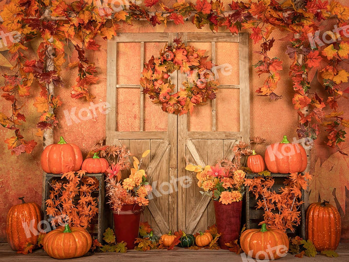 Kate Autumn Thanksgiving Pumpkin Backdrop Designed by Jia Chan Photography