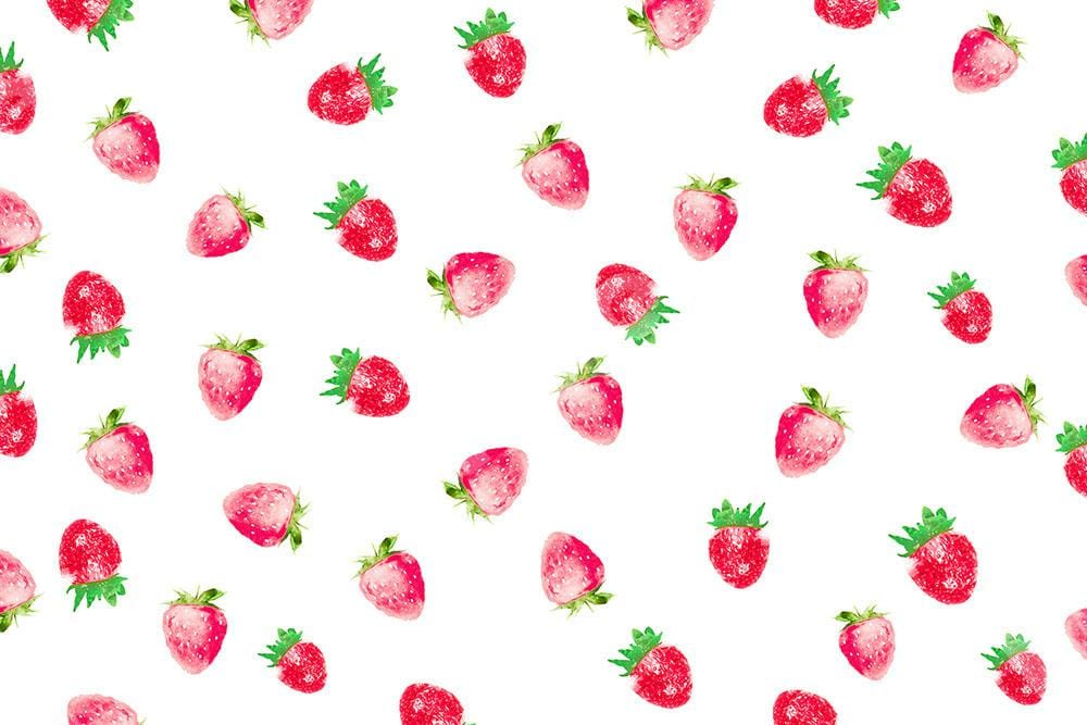 Load image into Gallery viewer, Kate Summer Backdrop Strawberry Designed by Chain Photography