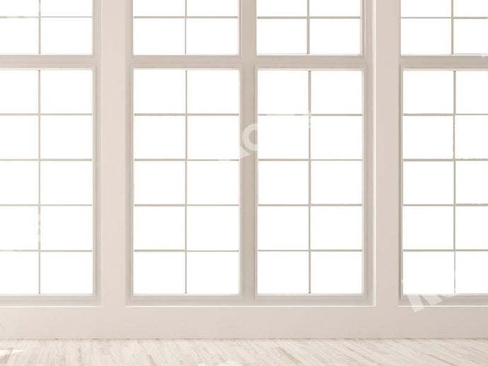 Kate White Window Backdrop White Floor Designed by Chain Photography