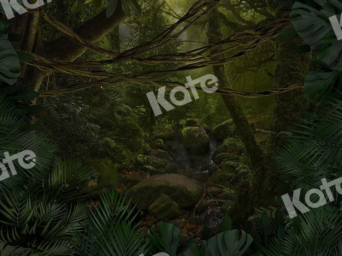 Kate Forest Backdrop Jungle Designed by Chain Photography