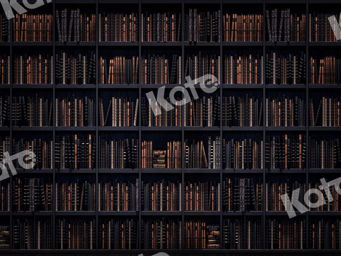 Kate Backdrop To School Backdrop Books Bookshelf Designed by Chain Photography