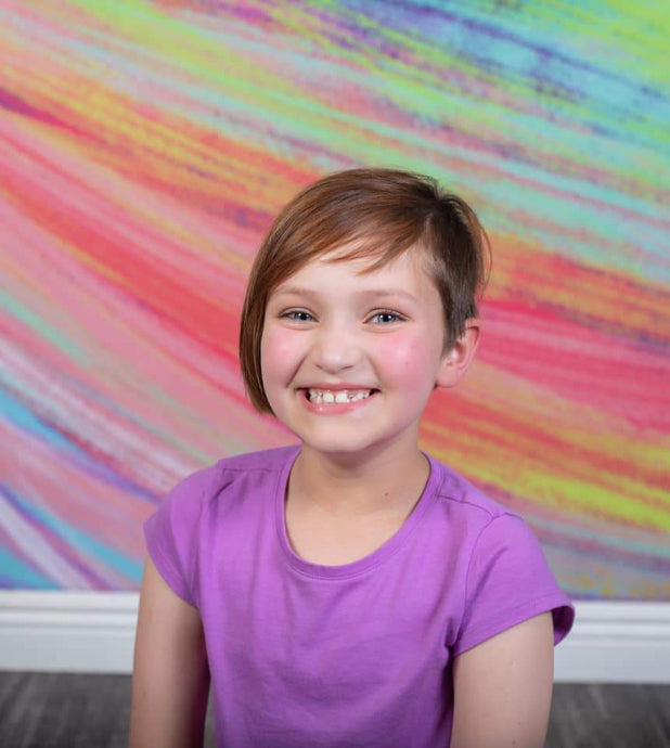 Kate Backdrop Chalk Rainbow Designed by Jia Chan Photography
